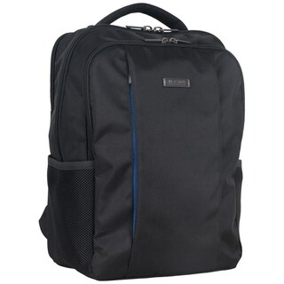 Kenneth Cole Reaction 1680D Polyester Triple Compartment Slim Multi-Pocket 17in Laptop Business Backpack (Anti-Theft RFID)