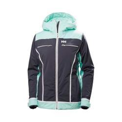 Women's Helly Hansen Belle Ski Jacket Graphite Blue