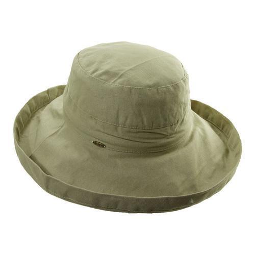 e6fe82066 Women's Scala LC8 Medium Brim Hat Chino