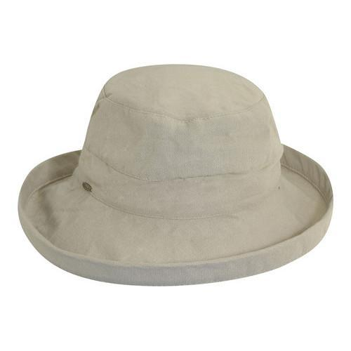 4d4ebf79a4a Shop Women s Scala LC8 Medium Brim Hat Desert - On Sale - Free Shipping On  Orders Over  45 - Overstock - 19212335