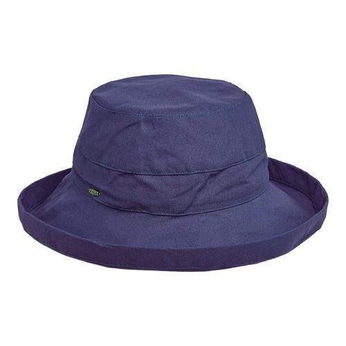 b9f0f7e7865 Shop Women s Scala LC8 Medium Brim Hat Navy - On Sale - Free Shipping On  Orders Over  45 - Overstock.com - 19212342