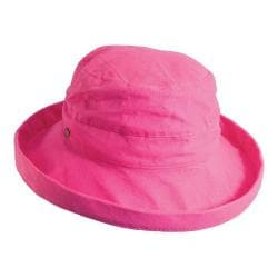 Women's Scala LC8 Medium Brim Hat C. Rose