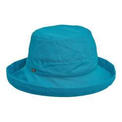 Women's Scala LC8 Medium Brim Hat Lagoon