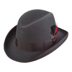 Men's Scala WF55 Wool Felt Homburg Charcoal