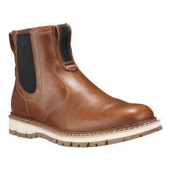 Men's Timberland Britton Hill Chelsea Boot Medium Brown Full Grain Leather