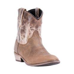 Women's Dingo Aubrey DI863 Walking Boot Cognac/Bone Leather