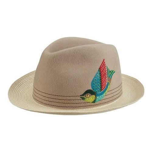 6f7f4d8b89b85 Shop Men s Santana by Carlos Santana Hemp Braid Fedora SAN195 Natural - Free  Shipping Today - Overstock - 19219972