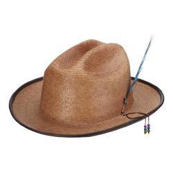 Men's Santana by Carlos Santana Braided Cattleman Hat SAN704 Tea