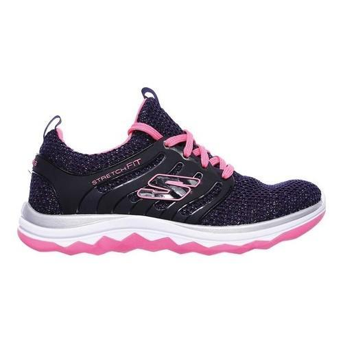 Girls' Skechers Diamond Runner Sparkle Sprints Sneaker NavyHot Pink | Shopping The Best Deals on Athletic