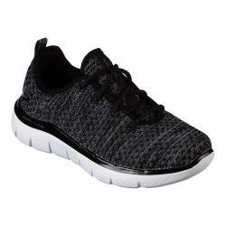 Boys' Skechers Flex Advantage 2.0 Cravy Sneaker Black/Gray