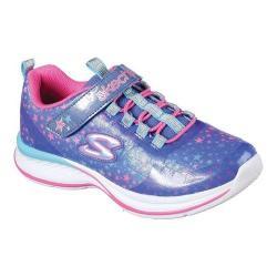 Girls' Skechers Jumpin Jams Cosmic Cutie Sneaker Blue/Multi