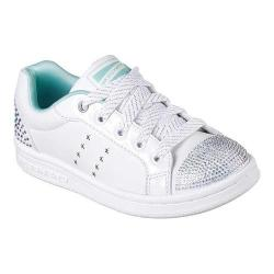 Girls' Skechers Omne Smile Back Sneaker White