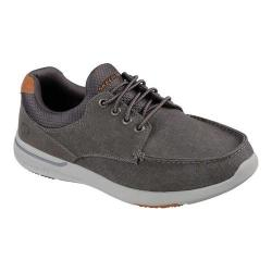 Men's Skechers Relaxed Fit Elent Mosen Boat Shoe Charcoal
