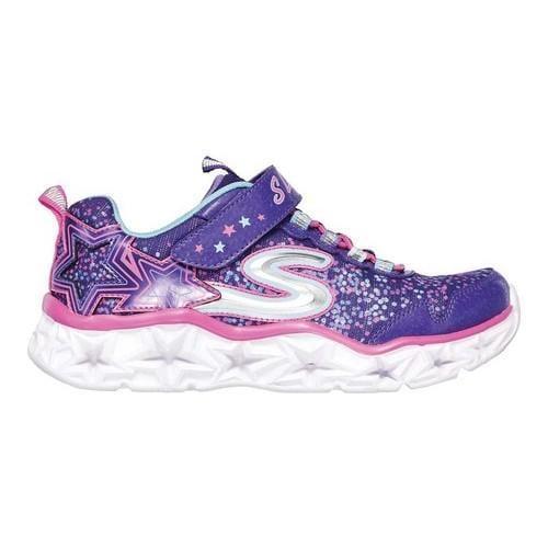 Shop Girls' Skechers S Lights Galaxy