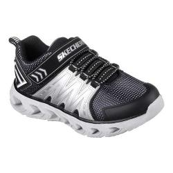 Boys' Skechers S Lights Hypno-Flash 2.0 Sneaker Black/Silver