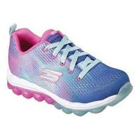 Girls' Skechers Skech-Air Bounce N Bop Sneaker Blue/Hot Pink