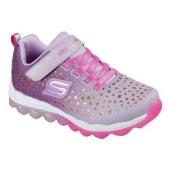 Girls' Skechers Skech-Air Star Jumper Sneaker Lavender/Pink