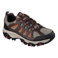 Men's Skechers Terrabite Trail Shoe Brown/Orange