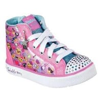 Girls' Skechers Twinkle Breeze 2.0 Emoji Magic High Top Multi