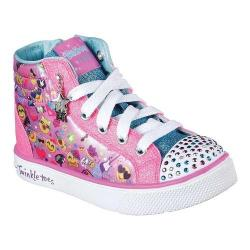 Girls' Skechers Twinkle Breeze 2.0 Emoji Magic High Top Multi (More options available)