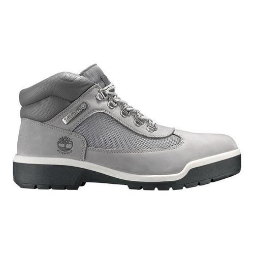 d580ca2b54cc1 Shop Men's Timberland Field Leather/Fabric Waterproof Boot Light Grey  Nubuck - Free Shipping Today - Overstock - 19220321