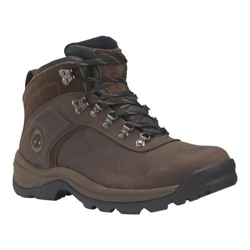 Men's Timberland Flume Mid Waterproof Boot Dark Brown