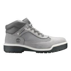 Men's Timberland Field Leather/Fabric Waterproof Boot Light Grey Nubuck