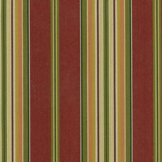 Blazing Needles 57-inch Indoor/Outdoor Striped Bench Cushion (Passion Ruby)
