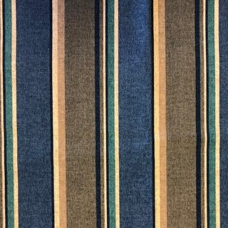 Blazing Needles 57-inch Indoor/Outdoor Striped Bench Cushion (sovarro denim)
