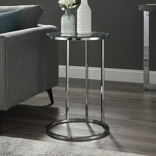 """16"""" Round C Side Table - 16 x 16 x 24h"""