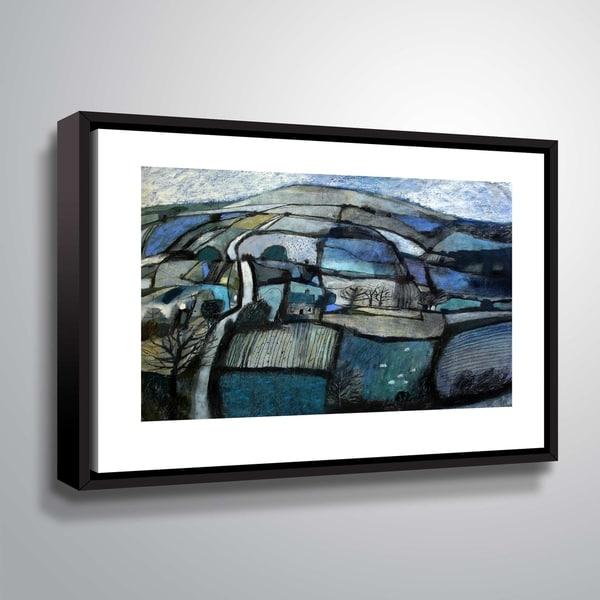 ArtWall Blackmore Vale Floater Framed Canvas