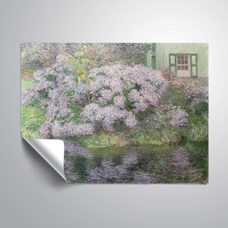 ArtWall Hydrangeas on the banks of the River Lys Removeable Wall Art