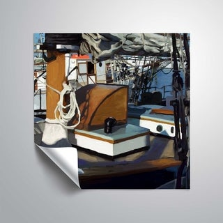 ArtWall Sailing Yacht II Removable Wall Art (4 options available)