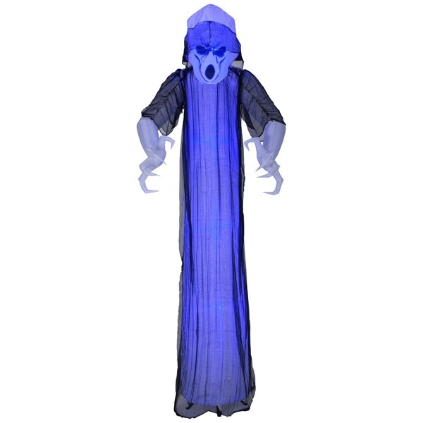 National Tree Company Inflatable Blue Ghost 8-foot Halloween Decoration