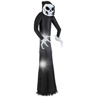 National Tree Company Black 7-foot Inflatable Giant Wicked Reaper