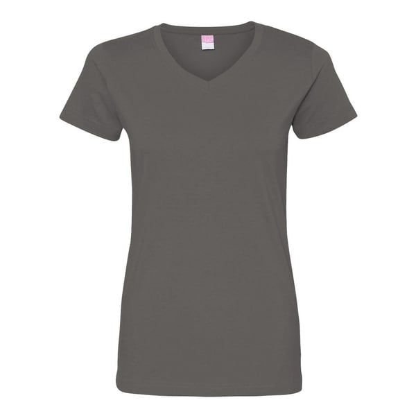 6a87febf3e9f Shop LAT womens Fine Jersey V-Neck Longer Length T-Shirt (3507) - On Sale -  Free Shipping On Orders Over $45 - Overstock - 22508506