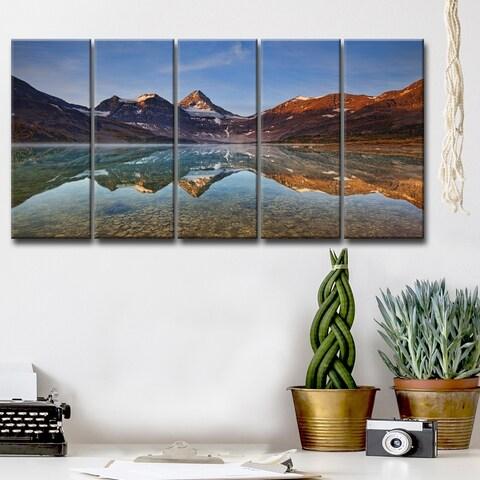 Ready2HangArt 'Magog Lake' 5-Pc Canvas Wall Décor Set - Multi-color