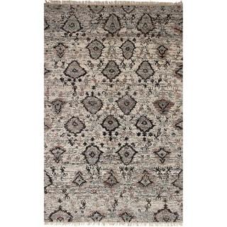 eCarpetGallery Hand-knotted Sari Silk Silk Rug