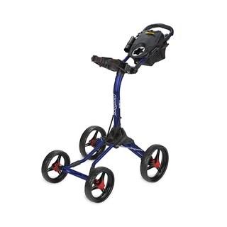 BagBoy Quad XL Golf Cart - Navy/Red