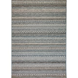 Solar Beige Blue Indoor Outdoor Area Rug 3 11