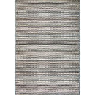Solar Blue Indoor/Outdoor Area Rug - 6'7 x 9'6