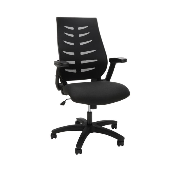 OFM Model 530 Core Collection Midback Mesh Ergonomic Office Chair - Burgundy
