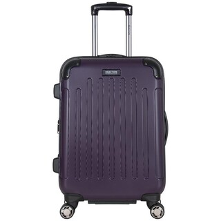 Kenneth Cole Reaction 20in Lightweight Hardside ABS Expandable 8-Wheel Spinner Upright Carry On Suitcase With Corner Guards