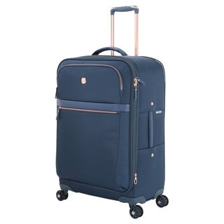 Swissgear Geneva Teal 24-inch Expandable Liteweight Spinner Suitcase