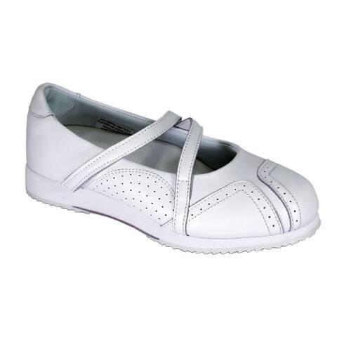 24 HOUR COMFORT Janis Women Extra Wide Width Trendy Slip On Shoes