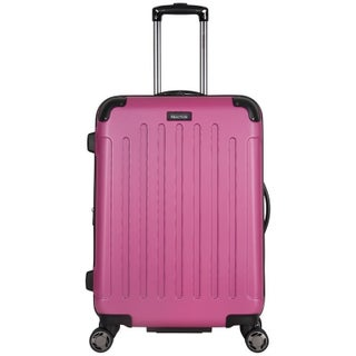 Kenneth Cole Reaction 24in Lightweight Hardside ABS Expandable 8-Wheel Spinner Upright Checked Suitcase With Corner Guards