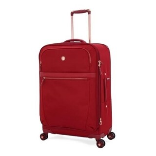 Swissgear Geneva Burnt Red Orange 24-inch Expandable Liteweight Suitcase