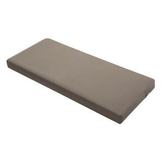 "Ravenna® Patio Bench/Settee Cushion Slip Cover & Foam, 48""W x 18""D x 3""T - 48""w x 18""d x 3""t"