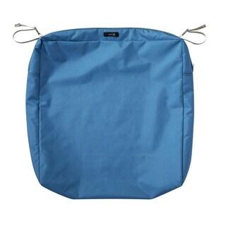 "Ravenna® Rectangular Patio Seat Cushion Slip Cover, 21""L x 25""W x 5""T"