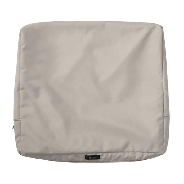 Ravenna Patio Back Cushion Slip Cover 25 L X 20 W 4 T